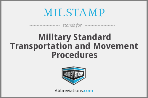 What does MILSTAMP stand for?