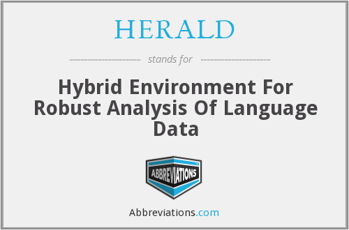 What does HERALD stand for?