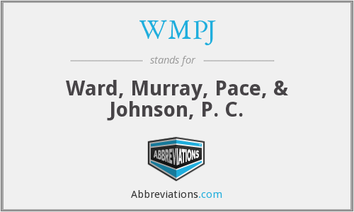 What does WMPJ stand for?