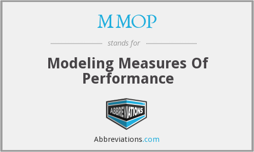 What does MMOP stand for?