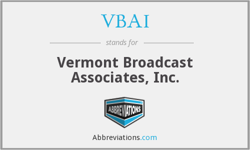 What does VBAI stand for?
