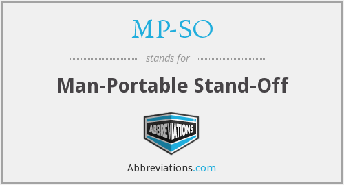 What does MP-SO stand for?