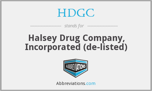 What does HDGC stand for?