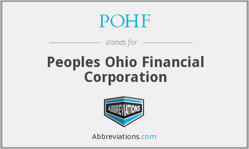 What does POHF stand for?