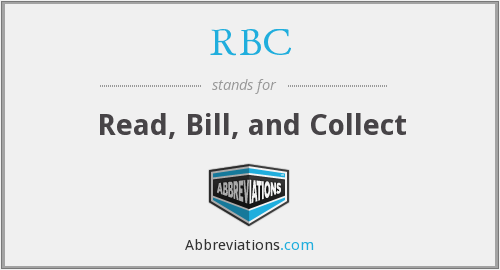 What does RBC stand for?