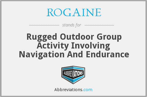 What does ROGAINE stand for?