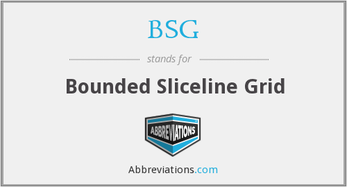 What does BSG stand for?