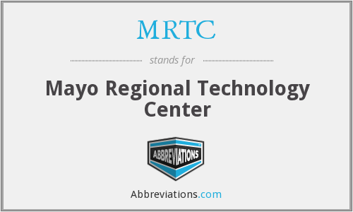 What does MRTC stand for?