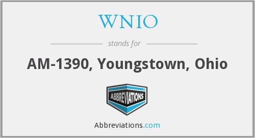 What does WNIO stand for?