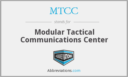 What does MTCC stand for?