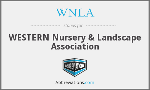 What does WNLA stand for?