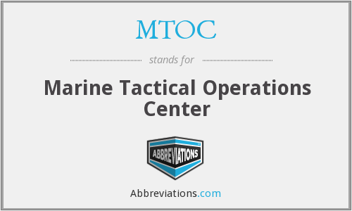 What does MTOC stand for?