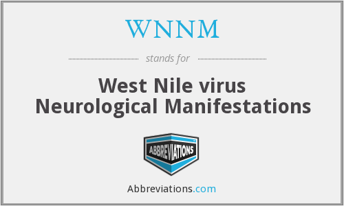 What does WNNM stand for?