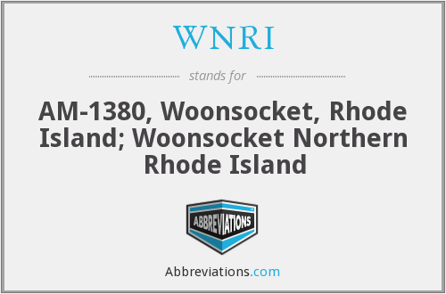 What does WNRI stand for?