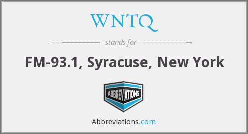 What does WNTQ stand for?