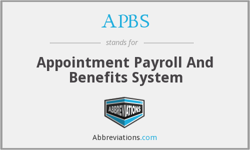 What does APBS stand for?