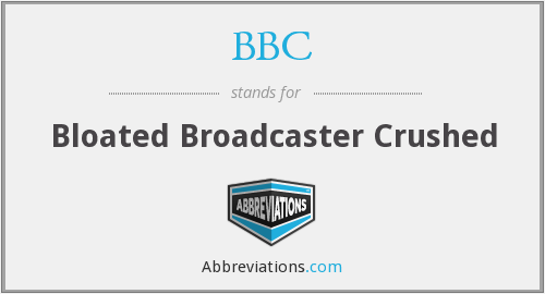 What does broadcaster stand for?
