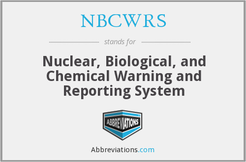 What does NBCWRS stand for?