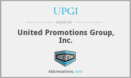 What does UPGI stand for?