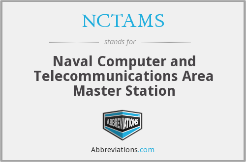 What does NCTAMS stand for?