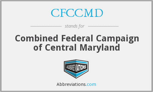 What does CFCCMD stand for?