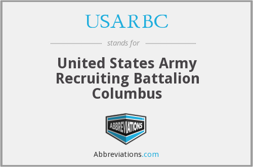 What does USARBC stand for?