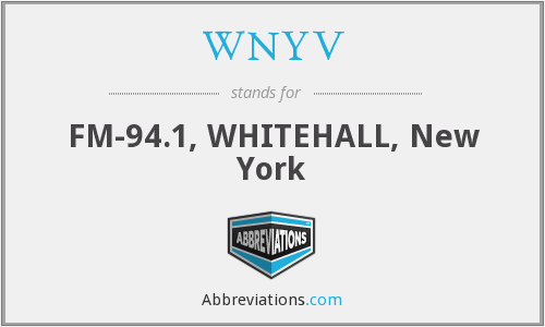What does WNYV stand for?