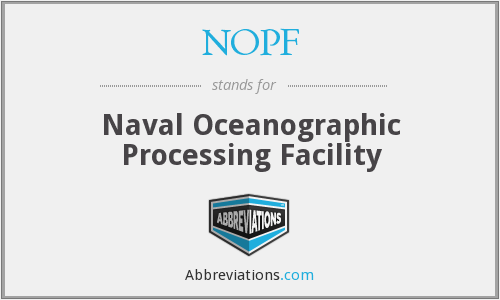 What does NOPF stand for?