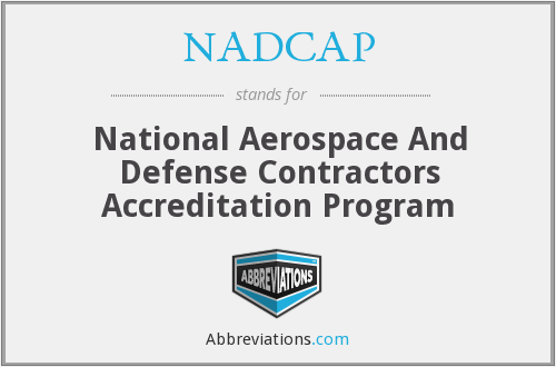 What does NADCAP stand for?