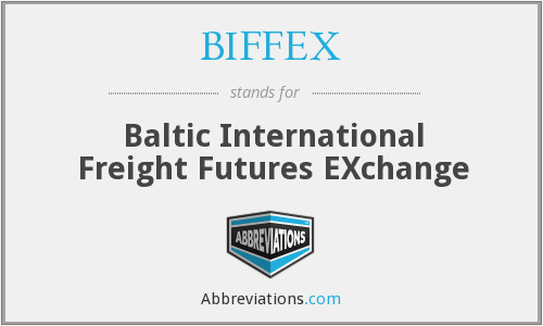 What does BIFFEX stand for?