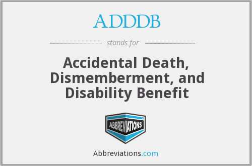 What does ADDDB stand for?