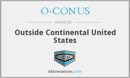 What does O-CONUS stand for?