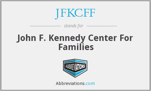 What does JFKCFF stand for?