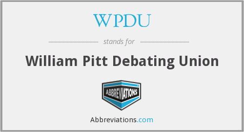 What does WPDU stand for?