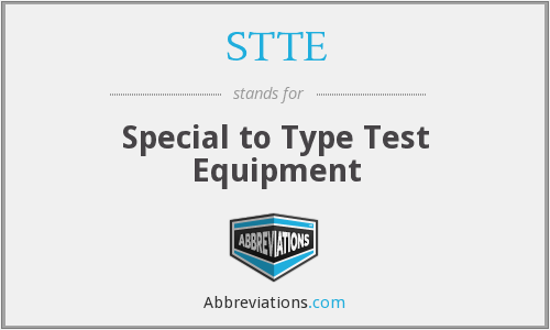 What does STTE stand for?