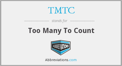 What does TMTC stand for?