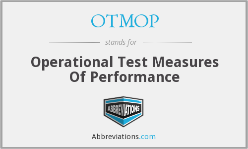 What does OTMOP stand for?