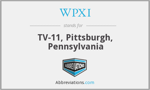What does WPXI stand for?
