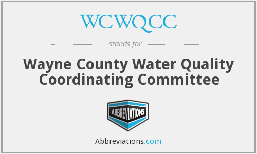 What does WCWQCC stand for?