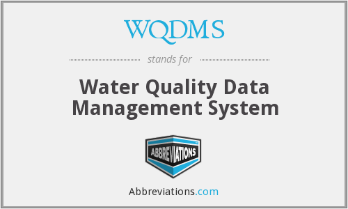 What does WQDMS stand for?