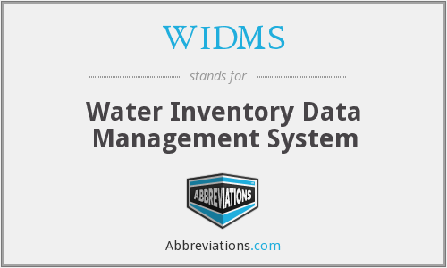 What does WIDMS stand for?