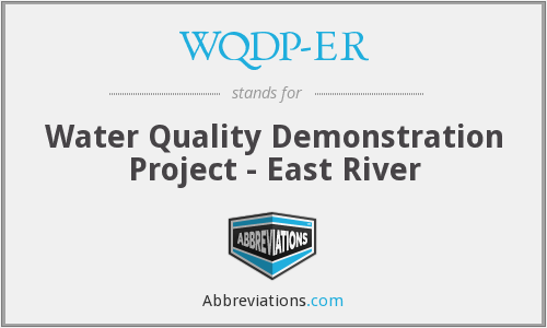What does WQDP-ER stand for?