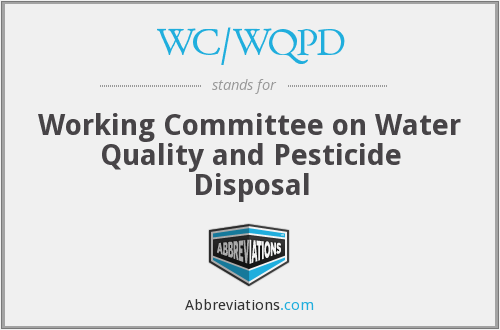 What does WC/WQPD stand for?