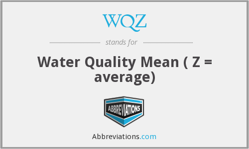 What does WQZ stand for?