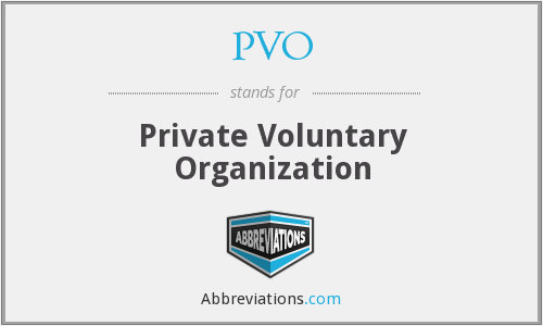 What does PVO stand for?