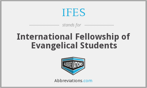 What does IFES stand for?