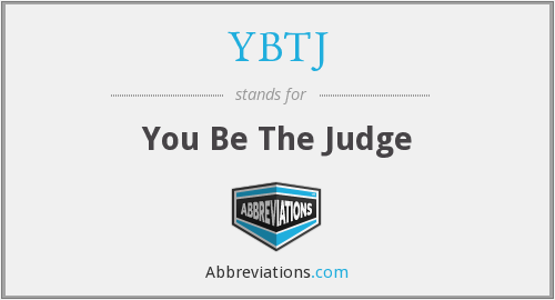 What does YBTJ stand for?