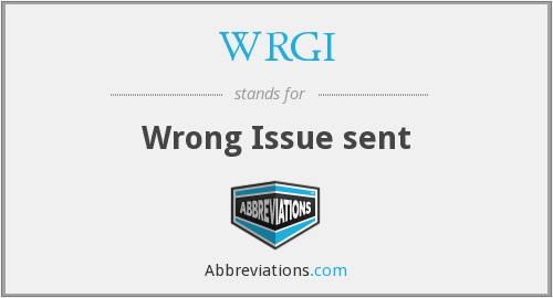 What does WRGI stand for?