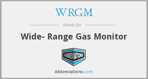 What does WRGM stand for?