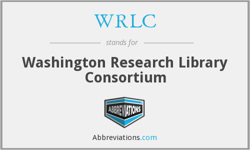 What does WRLC stand for?